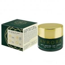 Анти-ейдж дневен крем AVRORA с допълнителна защита от изкуствена светлина, UV лъчи и замърсен въздух - 50мл.